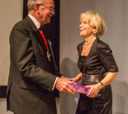 1447496609_The Master presents Dr Irene Wilkinson with a post book gift (1 of 1) (714x800).jpg