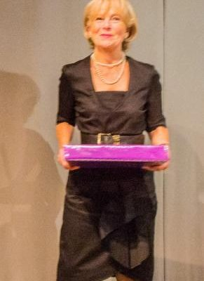1447496771_Dr Wilkinson with her gift wrapped present (Poor focus) (1 of 1) (465x800).jpg